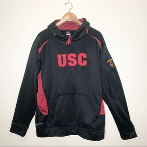 Nike Team USC Trojans Football Hoodie Size XL